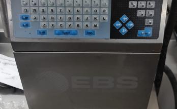 2. El EBS Inkjet Kodlama Makinesi